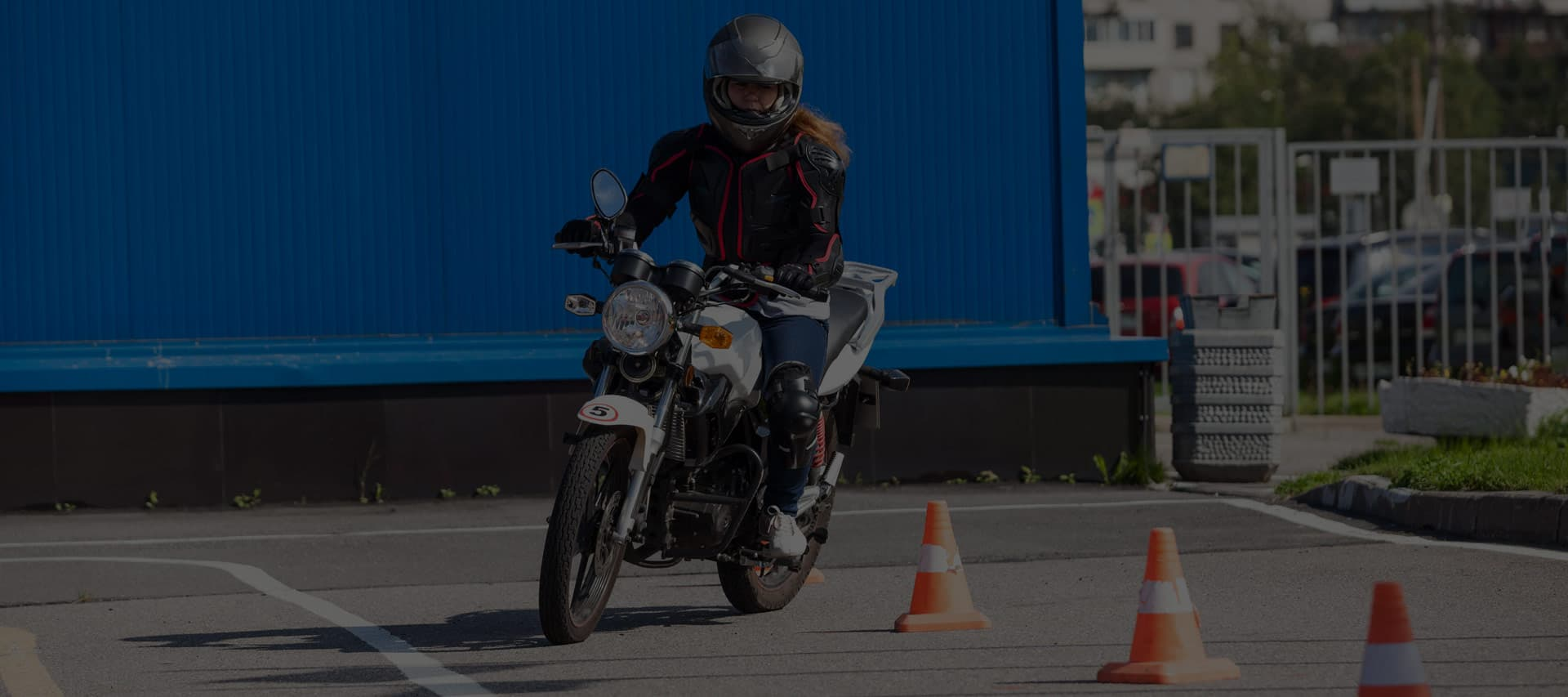 Motorcycle Skills test